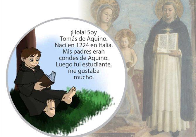 Figura Santo Tomás Aquino