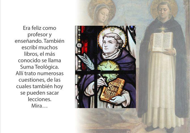 Figura Santo Tomás Aquino 03
